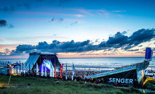 Beach-Festival Music Stage Hotel Friese Norderney North Sea